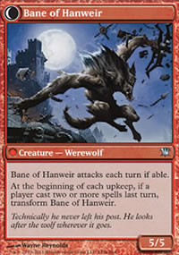 Bane of Hanweir - Innistrad