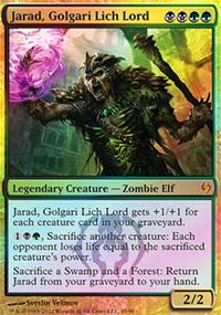 Jarad, Golgari Lich Lord - Izzet vs. Golgari