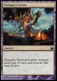 Xenagos's Scorn - Journey into Nyx Challenge Deck : Defeat a God