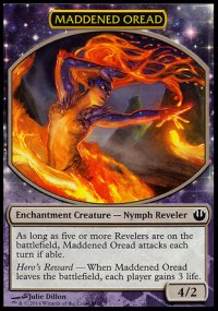 Maddened Oread - Journey into Nyx Challenge Deck : Defeat a God