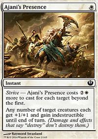 Ajani's Presence - Journey into Nyx