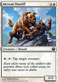 Akroan Mastiff - Journey into Nyx