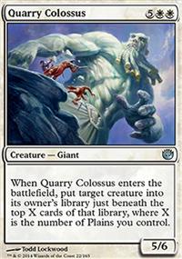 Quarry Colossus - Journey into Nyx