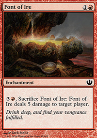 Font of Ire - Journey into Nyx