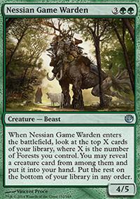 Nessian Game Warden - Journey into Nyx