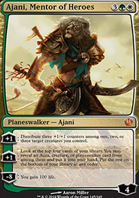 Ajani, Mentor of Heroes - Journey into Nyx
