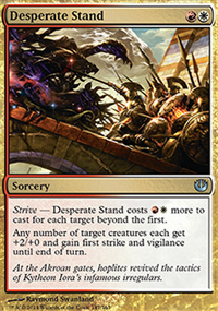 Desperate Stand - Journey into Nyx