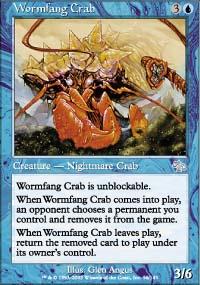 Wormfang Crab - Judgment