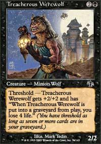 Treacherous Werewolf - Judgment