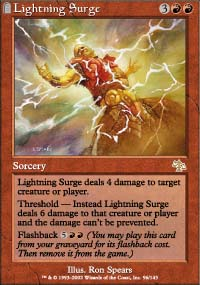Lightning Surge - Judgment