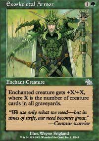 Exoskeletal Armor - Judgment
