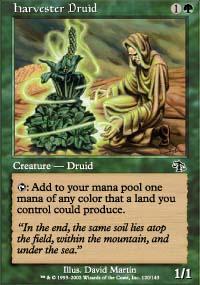 Harvester Druid - Judgment