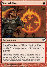Seal of Fire - Jace vs. Chandra