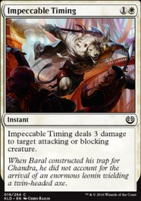 Impeccable Timing - Kaladesh