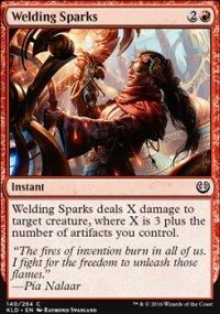 Welding Sparks - Kaladesh