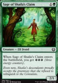 Sage of Shaila's Claim - Kaladesh