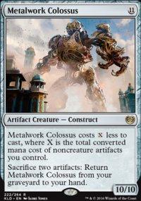 Metalwork Colossus - Kaladesh