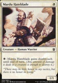 Mardu Hateblade - Khans of Tarkir