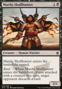 Mardu Skullhunter - Khans of Tarkir