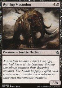 Rotting Mastodon - Khans of Tarkir