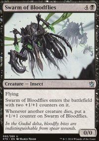 Swarm of Bloodflies - Khans of Tarkir