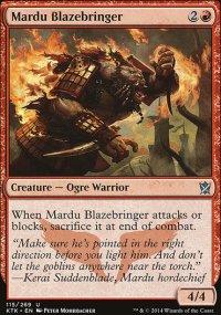 Mardu Blazebringer - Khans of Tarkir