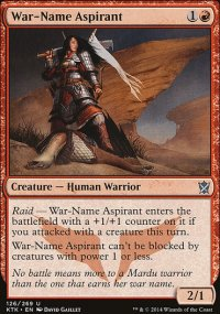 War-Name Aspirant - Khans of Tarkir