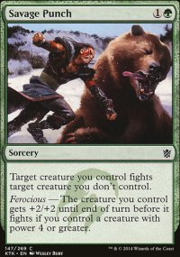Savage Punch - Khans of Tarkir