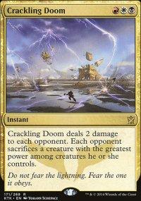 Crackling Doom - Khans of Tarkir