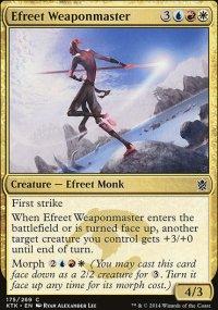 Efreet Weaponmaster - Khans of Tarkir