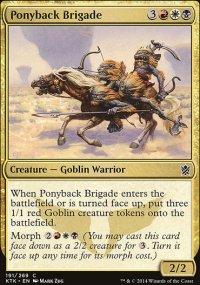 Ponyback Brigade - Khans of Tarkir