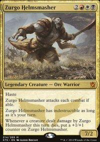 Zurgo Helmsmasher - Khans of Tarkir