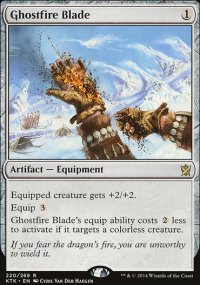 Ghostfire Blade - Khans of Tarkir
