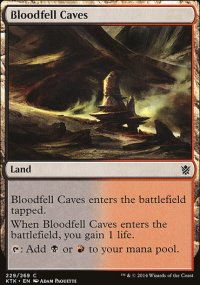 Bloodfell Caves - Khans of Tarkir