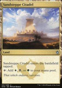 Sandsteppe Citadel - Khans of Tarkir