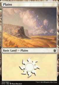 Plains 1 - Khans of Tarkir