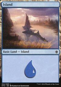 Island 1 - Khans of Tarkir