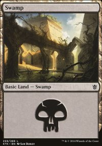 Swamp 2 - Khans of Tarkir