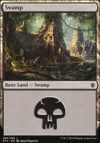 Swamp 3 - Khans of Tarkir