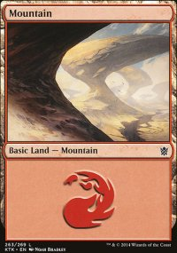 Mountain 2 - Khans of Tarkir