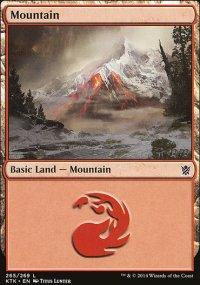 Mountain 4 - Khans of Tarkir