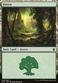 Forest 4 - Khans of Tarkir