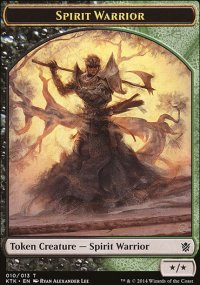 Spirit Warrior - Khans of Tarkir
