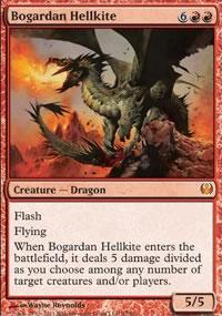 Bogardan Hellkite - Knights vs. Dragons
