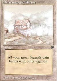 Adventurers' Guildhouse - Legends