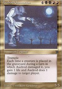 Axelrod Gunnarson - Legends