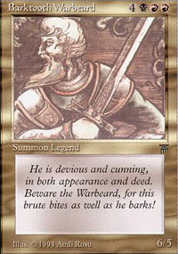 Barktooth Warbeard - Legends