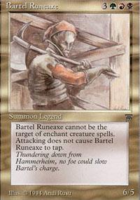 Bartel Runeaxe - Legends