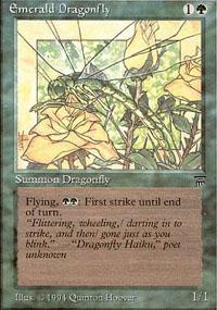 Emerald Dragonfly - Legends
