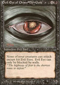 Evil Eye of Orms-by-Gore - Legends